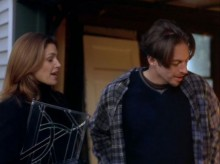 Tim Chappel, Costume Design: Cindy Crawford and Harry Connick, Jr. in The Simian Line [2000]