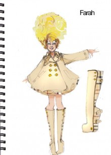 Sketch from Priscilla Queen of the Desert the Musical